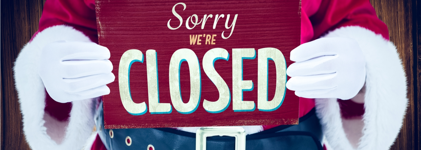 Manage your holiday closure