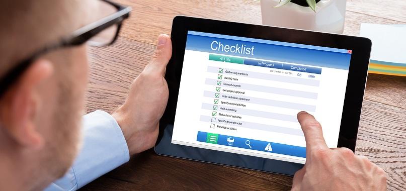 BAS checklist
