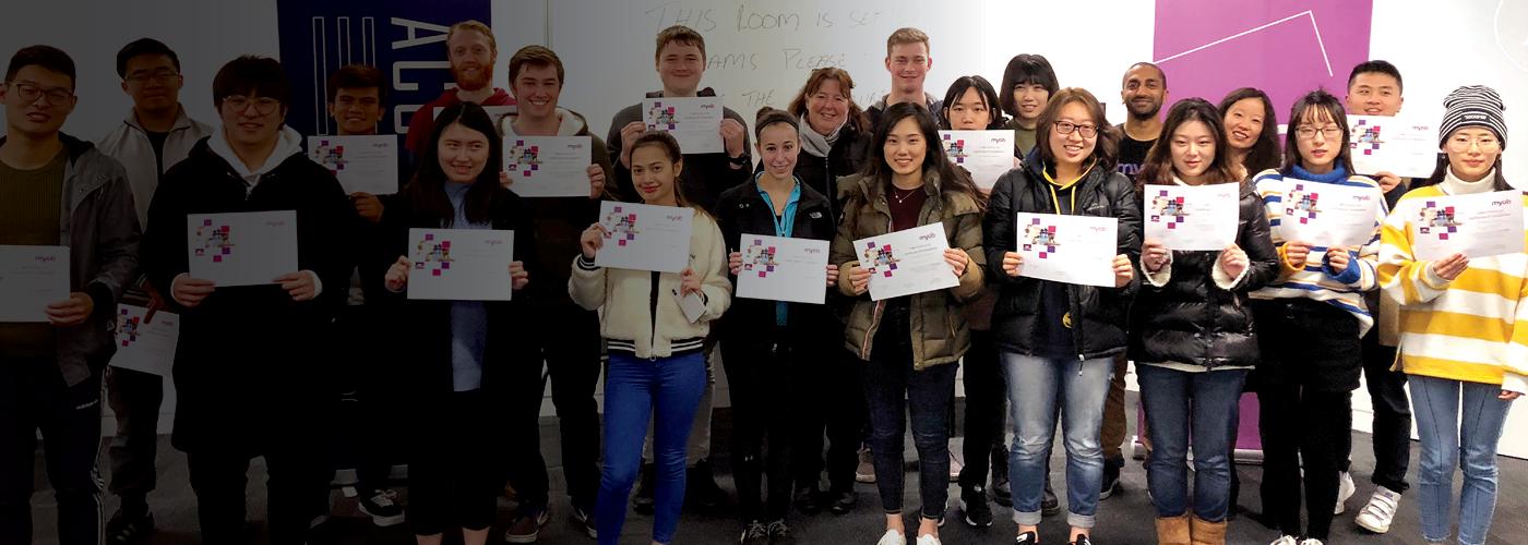 Uni students NZ