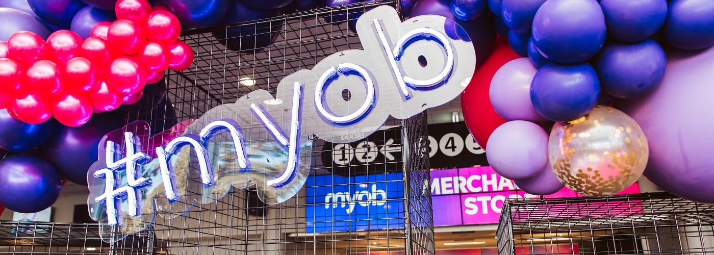 MYOB Partner Connect 2018 in Melbourne.