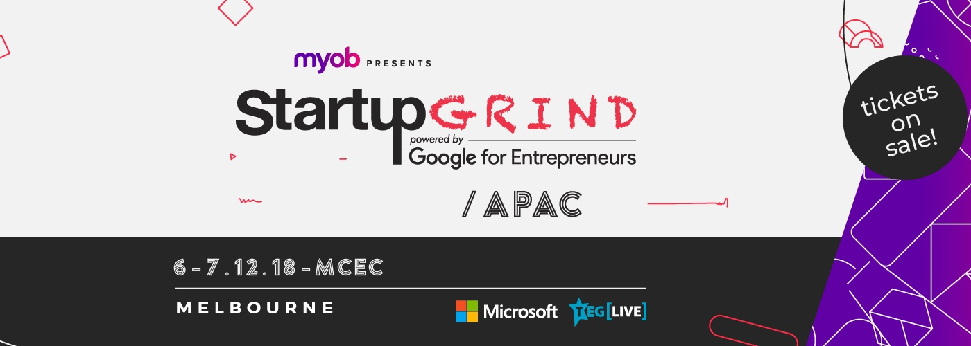 Startup Grind APAC Conference to launch in Melbourne