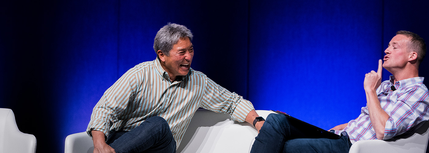 Guy Kawasaki and Jules Lund