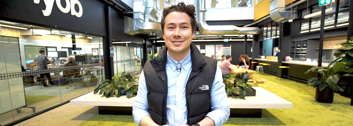 Nathan Chan, founder of Foundr Magazine.