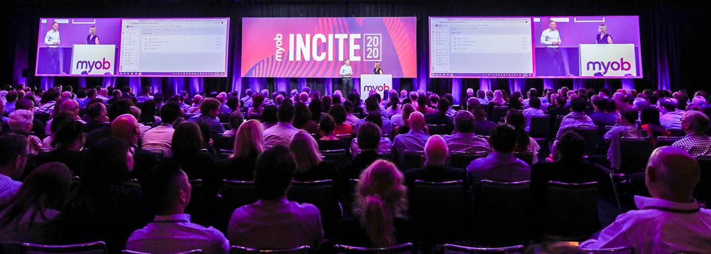 MYOB INCITE 2020 product updates.
