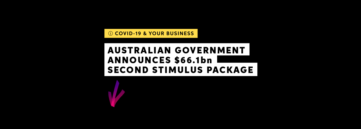 Stimulus for the Australian Government.