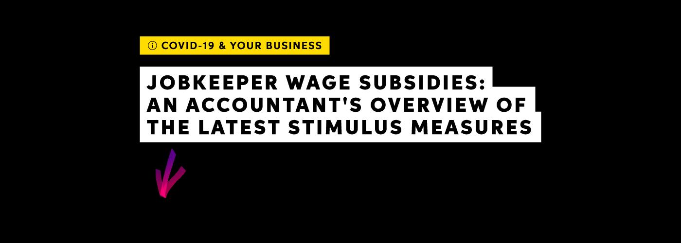JobKeeper subsidy