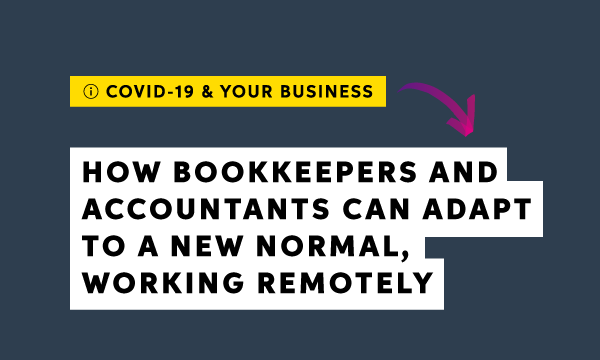 Accountants and bookkeepers: The shift to working from home