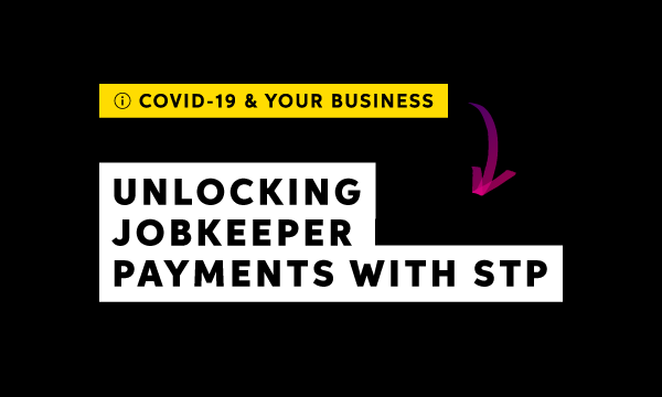 Unlocking JobKeeper payments via STP