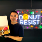 Phillip Kuoch of Goldeluck's Doughnuts