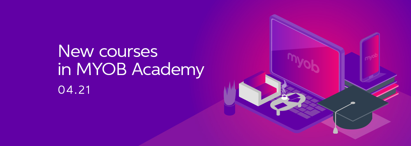 New courses for MYOB Academy
