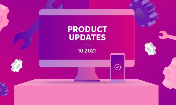 Product updates for advisors  — September 2021